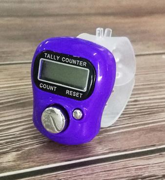 Lady Dee's Maschenzähler, Reihenzähler, Counter - purple